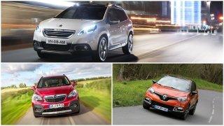 Tři oblíbená malá SUV se v bazarech prodávají už za 200 tisíc korun. Mohou být nečekaně dobrou koupí