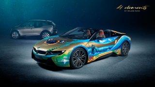 BMW i8 Roadster 4 elements by Milan Kunc 1
