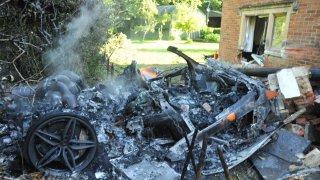 Nehoda McLarenu 570S 4