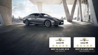 Lexus ES sází na bezpečnost