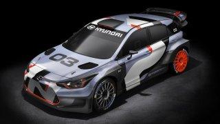 Hyundai i20 WRC 2016.