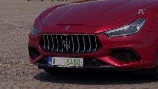 Recenze sportovně-luxusního sedanu Maserati Ghibli Gransport S Q4 (Repríza)