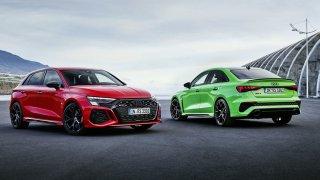 Audi RS3 je jako auto z jiného světa: benzinový pětiválec emisím navzdory a režim pro driftování