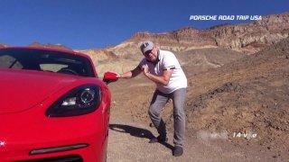 Reportáž: Kalifornské Dead Valley v Porsche 718 Cayman - 1.díl