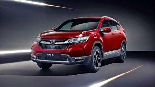 Honda CR-V nejen v novém kabátu míří do Ženevy