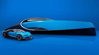 K Bugatti Chiron si lze koupit i fantastickou superjachtu