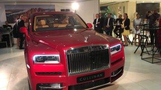 Rolls-Royce Cullinan premiéra v Praze