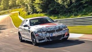 BMW řady 3 Sedan test na Nürburgringu