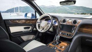 Bentley obložení interiéru