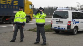 Řidič kamiónu zaplatil na moravské dálnici D2 rekordní pokutu 132 tisíc korun