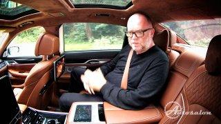 Expert Pepa na zadním sedadle BMW 760 Li M Perform