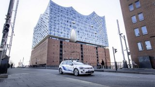 Volkswagen - automatizovaná jízda v Hamburku 1