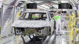 Volkswagen továrna Wolfsburg