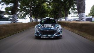 Hvězdou festivalu rychlosti v Goodwoodu se stal nový rallyový Ford. Bude jezdit MS v rallye