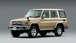 Toyota Land Cruiser vznikla původně jako auto pro armádu. Dnes je synonymem pro off-road
