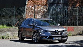 Silný naftový motor, ale s vyšší spotřebou - testovali jsme kombi Renault Talisman Grandtour