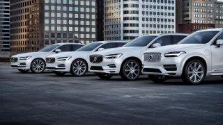 Volvo modelová řada