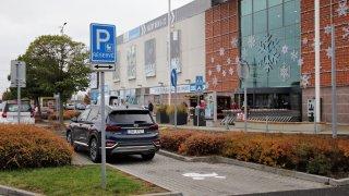 parkování kočárky