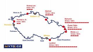 Správce mýta varuje: Kolony ucpou začátkem prosince vjezdy do Česka. Mohou mít až 40 km a 63 hodin