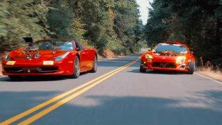 Ferrari 458 jako kamera auto pro divoce upravenou