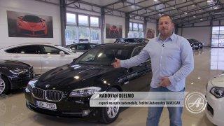 Luxus a rychlost! Test ojetého BMW 5 2