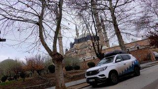 V Turecku na hranicích auta ofukují desinfekcí, COVID testy posádky ale nevyžadují