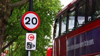 Londýn limit 20 mph