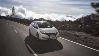 Nový Nissan LEAF má pět hvězdiček od Euro NCAP