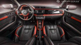 Tohle je Škoda Fabia! Luxusní interiér stál víc ne