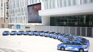 Toyota Mirai Hype taxi 2