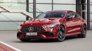 Mercedes-AMG GT jako čtyřdveřové kupé