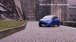 Test malého elektromobilu Renault Zoe R110 40 kW Intens