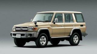 Toyota Land Cruiser J70 po faceliftu