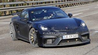 To bude jízda! Porsche 718 Cayman poprvé dostane šestiválec