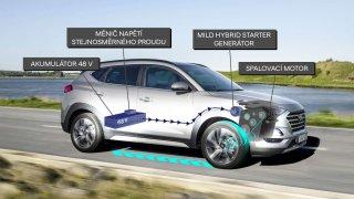 Hyundai Tucson dostal technologii MHEV 48 V