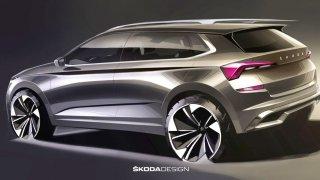 Škoda Kamiq design 2