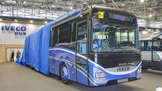 Iveco Bus nabízí nový vůz Crossway Natural Power