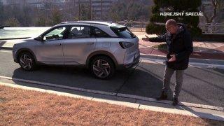 Test vodíkového auta Hyundai Nexo