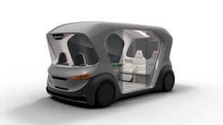 Bosch koncept vozu kyvadlové dopravy CES 2019 3
