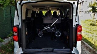 Toyota Proace - objevte plusy a mínusy pojízdné garsonky, ve které nemusíte skládat kočárek