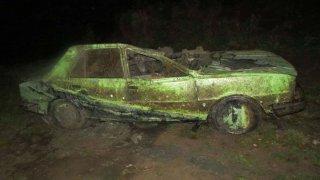 Škoda 105 po mnoha letech pod vodou