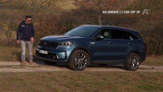 Recenze SUV Kia Sorento 2.2 CRDI Top 7M