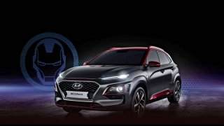 Hyundai Kona má limitovanou edici Iron Man