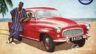 Škoda Octavia 1959