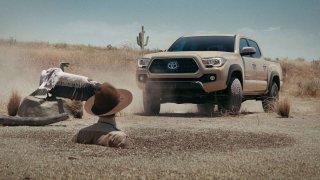 Chuck Norris a reklama na Toyotu