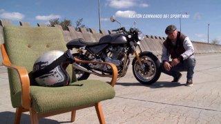 Recenze motocyklu Norton Commando 961 Sport MKII z roku 2017