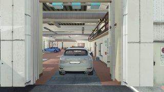 Porsche - autonomní jízda v servisu 3