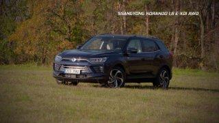 Recenze korejského SUV Ssangyong Korando 1.6 E-XDI AWD