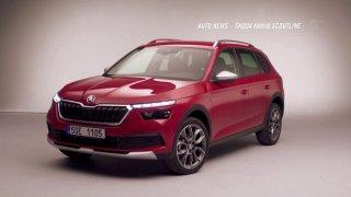 Auto news: Škoda Kamiq Scoutline, Volvo lidar a Ford Ranger Thunder