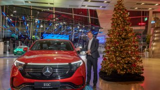 BMW a Mercedes vánoční kampaň